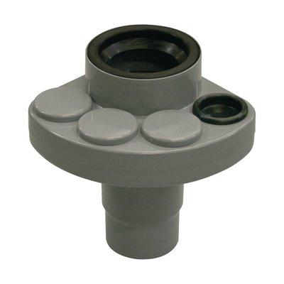 Multi-connecteur PVC gris - Ø 110 mm - 4 branchements Ø 32 à 50 mm