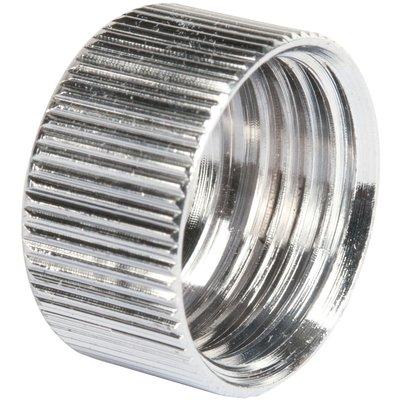 Ecrou cylindrique pour flexible de douche - Filetage Femelle - Femelle - Au