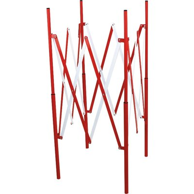 Barrière de regard extensible Novap - Rouge/Blanc