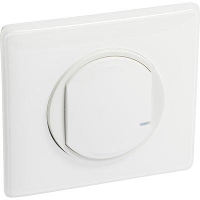 Interrupteur filaire connectée option variateur Céliane with Netatmo Legran