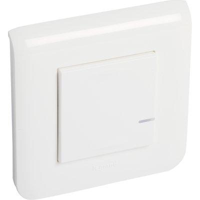 Interrupteur filaire connectée option variateur Mosaic with Netatmo Legrand