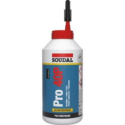Colle à bois polyuréthane monocomposante extérieur Pro 40 P