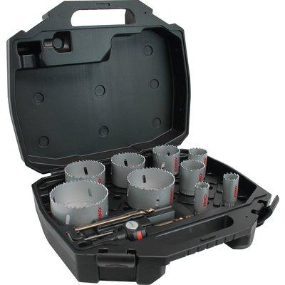 Coffret de trépans 9 diamètres BIM + accessoires EAYSCLIP - ERKO
