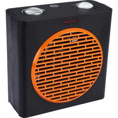 Radiateur soufflant Cube avec ventilation froide Varma - 2000 W - Blanc et