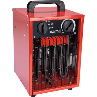 Radiateur électrique d'appoint pour chantier - Cube - Puissance 1000 / 2000