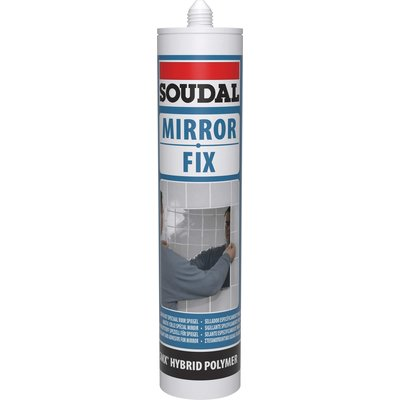 Colle miroir polymère hybride SMX - Mirror Fix - 290 ml - Blanc