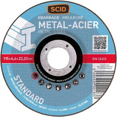 Disque à ébarber métaux standard - Diamètre  230 mm