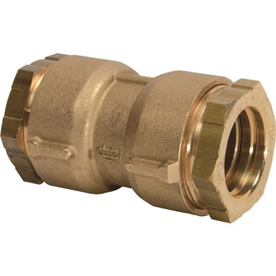 Raccord PE droit à serrage - Femelle - Ø 25 mm - Rexuo - Huot