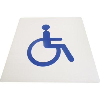 Panneau de signalisation accessibilité - PVC
