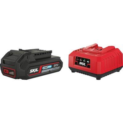 Set batterie avec chargeur Skil - 2,5 Ah