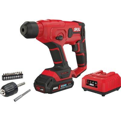 Perforateur 3810 CA Skil - sans batterie ni chargeur sans fil - 18V