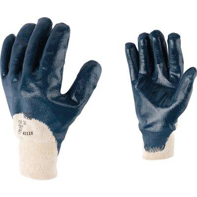 Gants de protection manutention enduit nitrile Eurotechnique - Taille 9