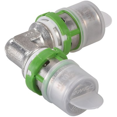 Coude égal laiton multicouche à sertir Comap - Diamètre 16 mm