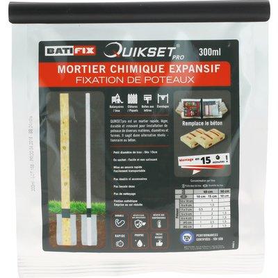 Mortier chimique expansif Quikset - 300 ml