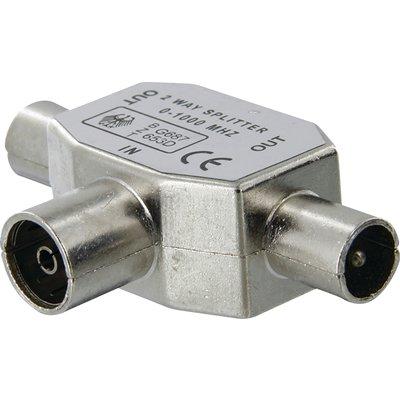 Répartiteur TV - 3 voies - Blindé - Diamètre 9,52 mm