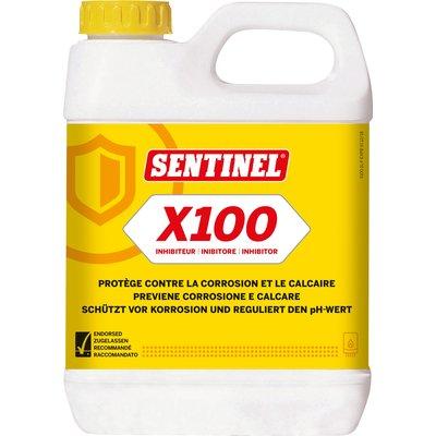 Inhibiteur de corrosion et de tartre X100 - Spécial chauffage