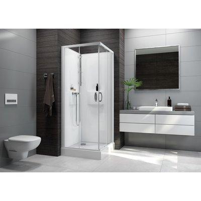 Cabine de douche Izi Box2 - Carrée - Portes coulissantes