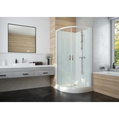 Cabine de douche Izi Glass2 - Quart de rond - Portes coulissantes