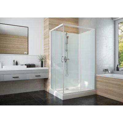 Cabine de douche Izi Glass2 - Carrée - Portes coulissantes