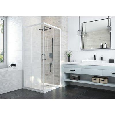 Portes de douche coulissantes Atout 3 - Carrées - Accès d'angle