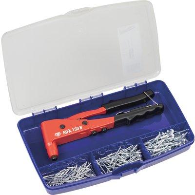 Pince à rivet Rifix - Coffret de 150 rivets + pince