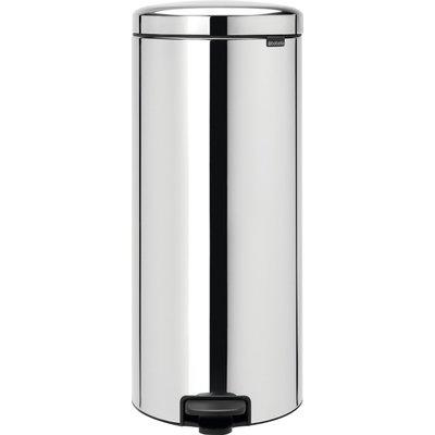 Poubelle sanitaire à pédale - Brilliant steel