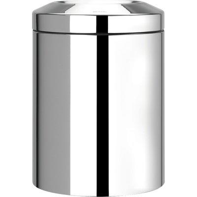 Corbeille à papier Pare Flamme Brilliant Steel - 7 litres - Brabantia