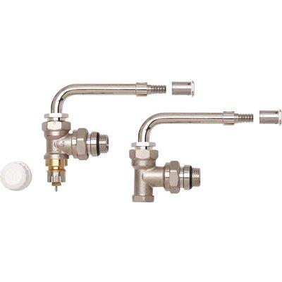 Kit hydrocablé équerre inversée RA-IN - Coude orientable - A sertir - 12 mm
