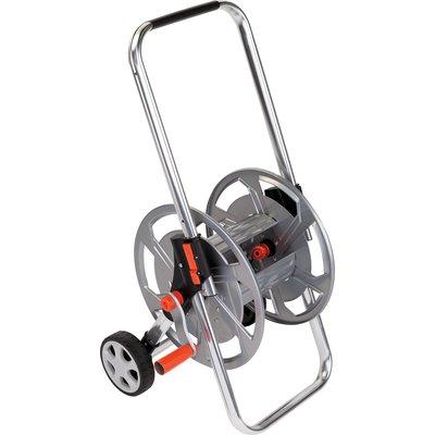 Dévidoir aluminium Spool sur roues poignée réglable