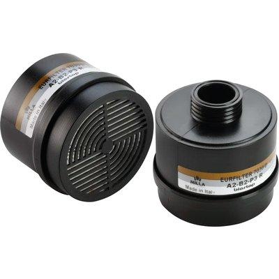 Cartouche filtrante anti-poussière et anti-gaz vapeur - Pour masque respira