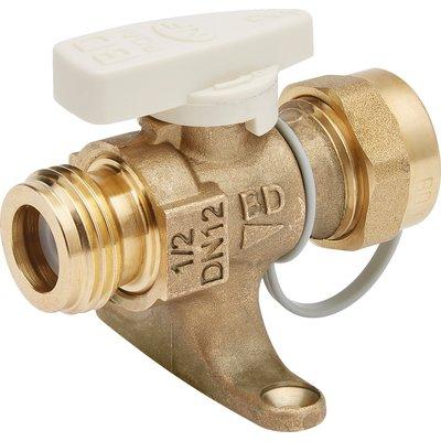 Robinet gaz naturel à obturation automatique intégrée - Brut - Avec bouchon