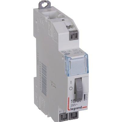 Télérupteur standard - 1 module - Tension 230 V - Intensité 16 A