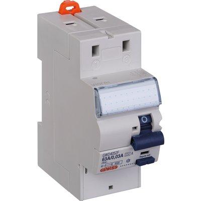 Interrupteur différentiel 2P Fixmatic - Sensibilité 30mA - Protection des d
