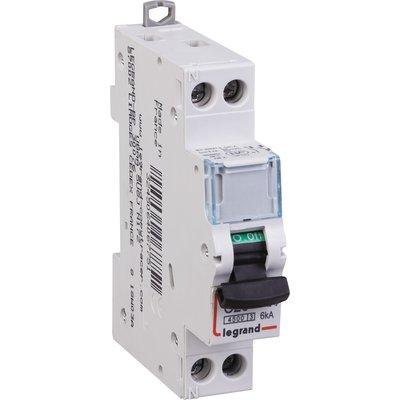 Disjoncteur DNX³ - 4,5 kA - Courbe C et D - Protection des départs - 1 modu