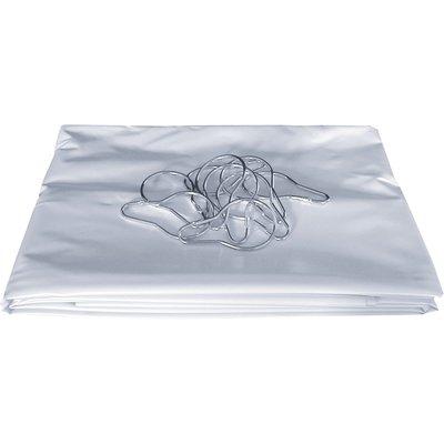 Rideau de douche non feu - Classe M1 - Blanc