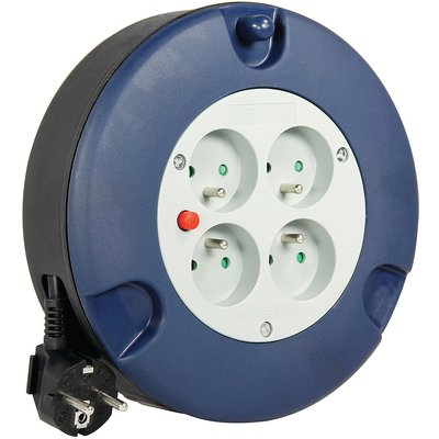 Enrouleur électrique domestique - Câble  3G1,5 mm² - Longueur 5 m