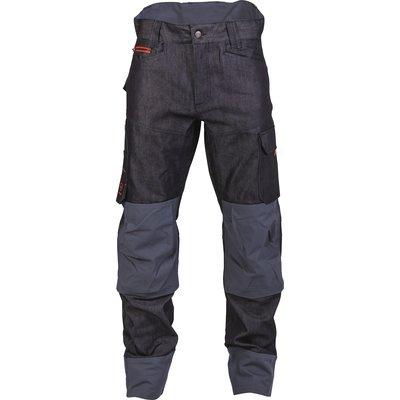 Pantalon de travail multipoches Boréal - Denim - Bleu