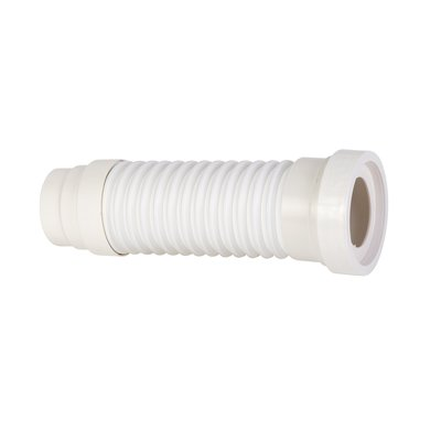 Pipe extensible WC souple - PVC