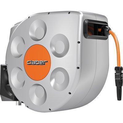 Dévidoir de tuyau d'arrosage Rotoroll® - Enrouleur automatique - Avec tuyau