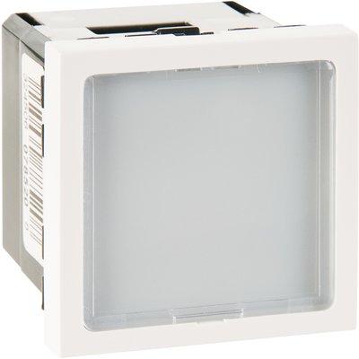 Interrupteur de signalétique lumineuse Mosaic - À LED blanche - 2 modules