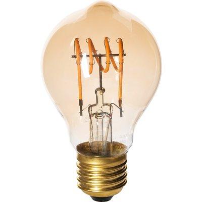 Ampoule LED poire à filament - Amber - Culot E27