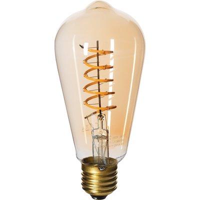 Ampoule LED standard à filament - Amber - Culot E27