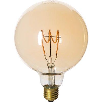 Ampoule LED globe à filament - Amber - Culot E27
