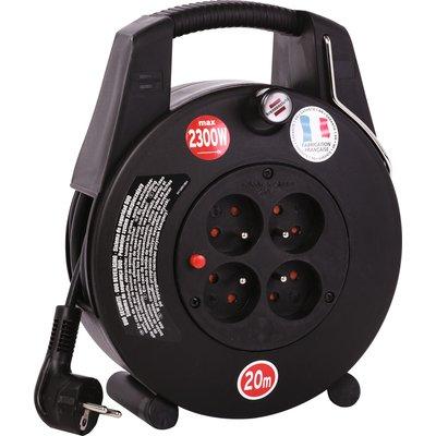 Enrouleur électrique - 4 prises - Câble 3G1 mm²