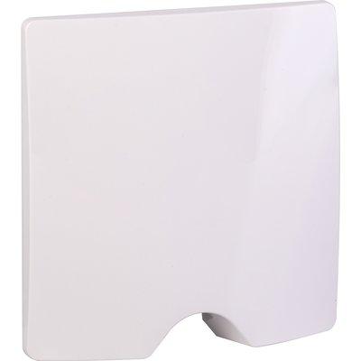 Sortie de câble IP 21 livrée complète - Dooxie composable - Plaque blanche