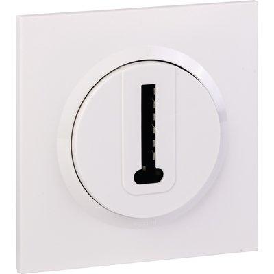 Prise téléphone en T + plaque carrée et griffes - Dooxie one - Blanc