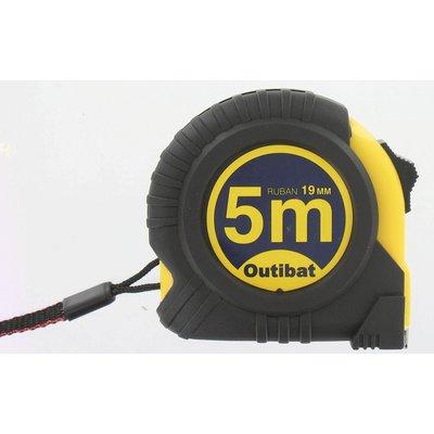 Mètre ruban - Boîtier ABS bi-matière