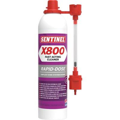 Désembouant rapide X800 - Spécial chauffage central
