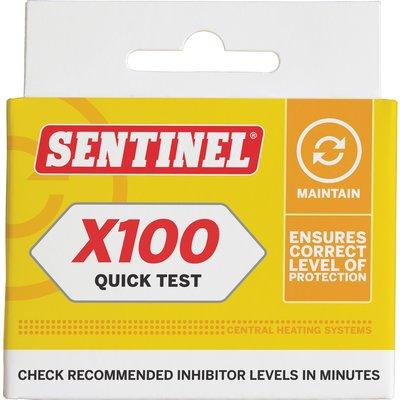 Test de concentration de l'eau X100 - Spécial chauffage