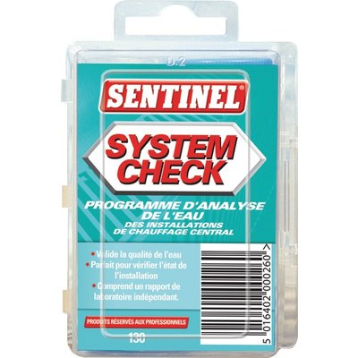 Programme d'analyse de l'eau System Check - Spécial chauffage
